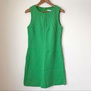 DVF | Carpreena Twill Green Dress 8